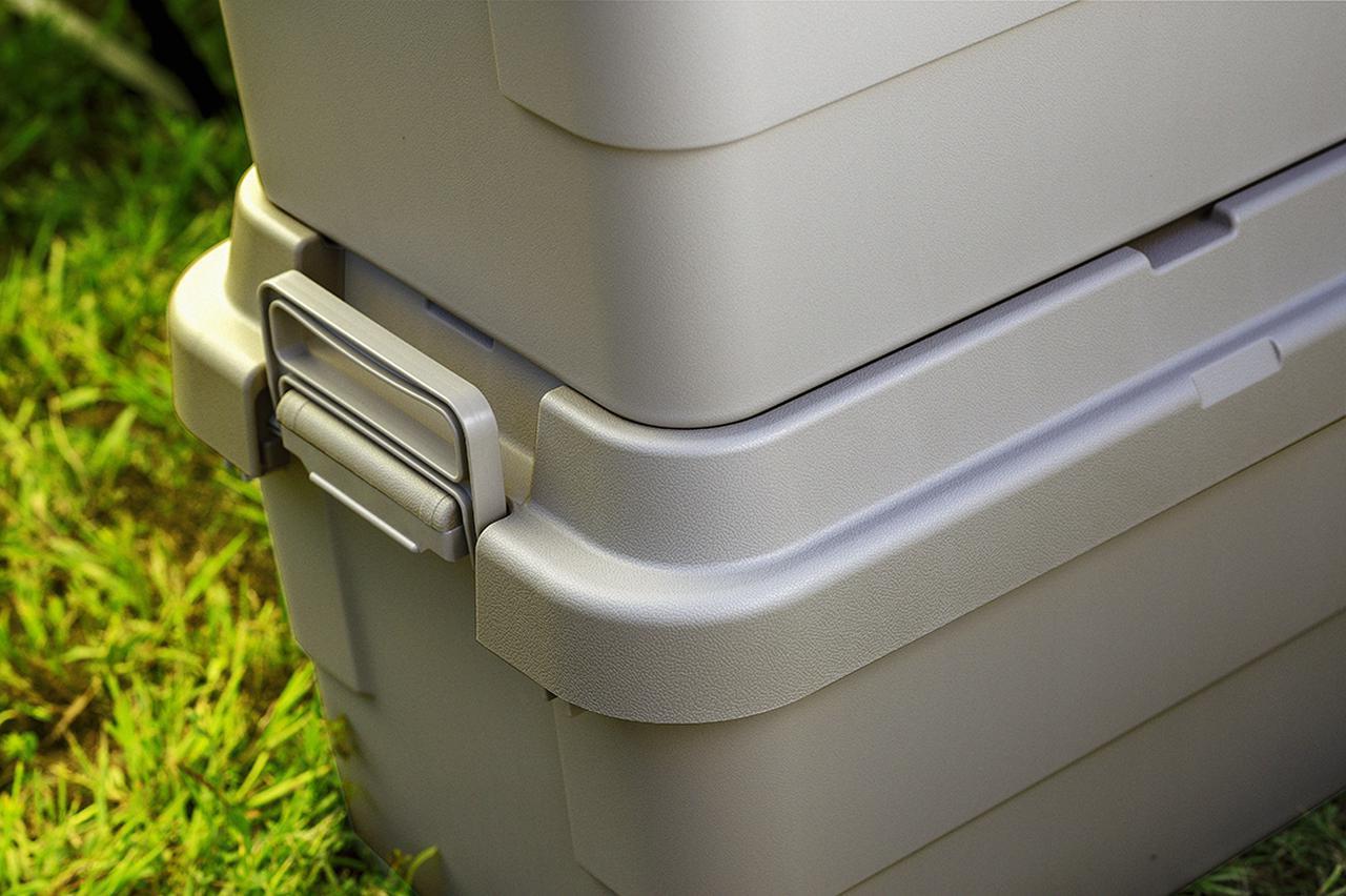画像: ズレ防止形状で積み重ねの安定性が向上