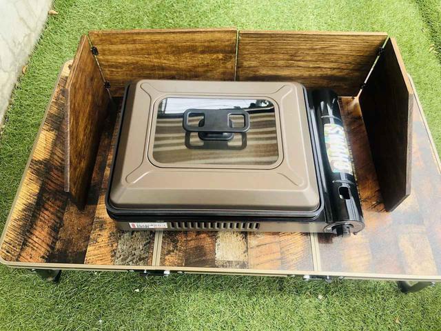 画像: 【100均で風防DIY】ダイソーの桐まな板でカセットコンロ用木製風防を簡単DIY - ハピキャン(HAPPY CAMPER)