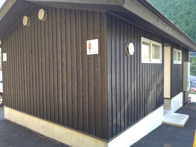 画像: 筆者撮影「トイレはオートキャンプサイト至近で安心」