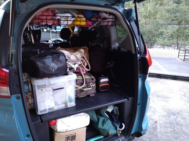 画像: 筆者撮影「広い荷室にたくさん荷物を積める」