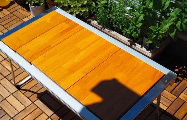 画像: スノーピークのテーブル「エントリーIGT」はベランピング向き! 自由なカスタマイズでBBQも - ハピキャン(HAPPY CAMPER)