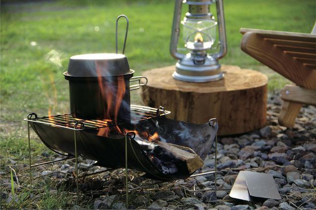 画像: 【注目リリース】ベルモントの焚き火台と調理器具をご紹介 ソロキャンプにおすすめ! - ハピキャン(HAPPY CAMPER)