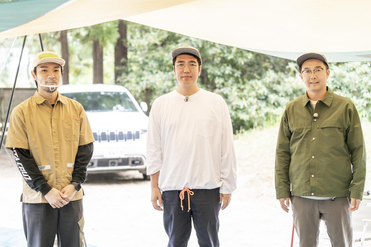 画像: photographer 吉田 達史 紹介してくれるのはコールマンジャパンの神田さん(左)です