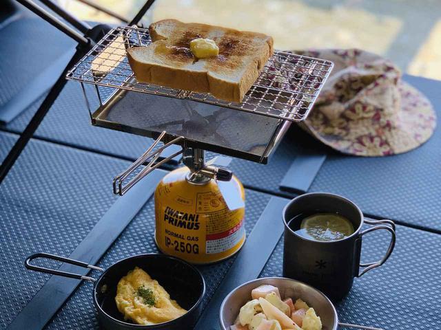 画像: キャンプの朝食は「パン派」のあなたに! ユニフレーム「fanマルチロースター」の魅力を徹底紹介 - ハピキャン(HAPPY CAMPER)