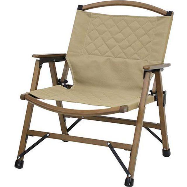 画像1: 【レビュー】クイックキャンプの新商品! ウッドローチェア&ウッドロールローテーブルはおしゃれキャンプにぴったり◎