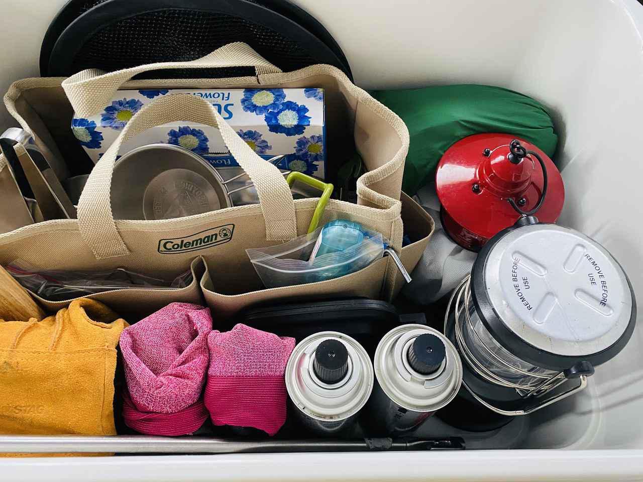 画像: 【コンテナボックス】キャンプ用品の収納悩みを解決!無印良品やニトリのコンテナボックスをご紹介 - ハピキャン(HAPPY CAMPER)