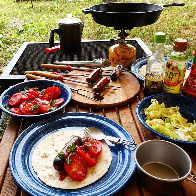 画像: 【キャンプ調理で使える熱源】バーナーやカセットコンロは火おこしいらずで初心者にもおすすめ!