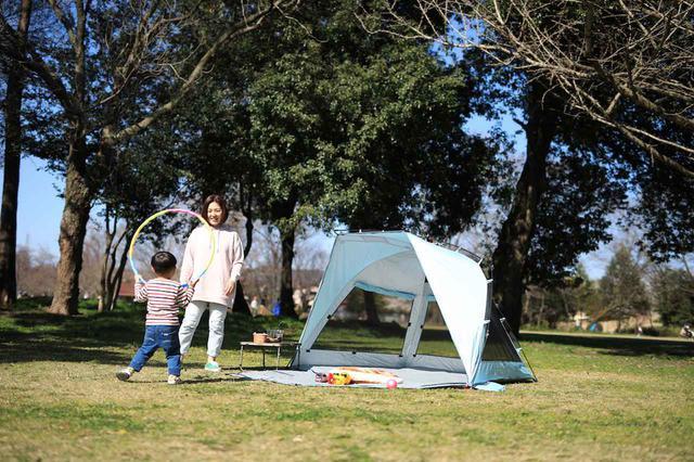 画像: 【注目リリース】「ピクニック」や「デイキャンプ」にもぴったりな、QUICKCAMP(クイックキャンプ)のサンシェード&ワンタッチテント。 - ハピキャン(HAPPY CAMPER)