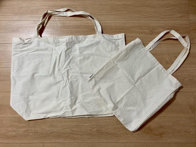 画像: 【ワークマンのエコバッグ】見つけたら即買い! 大容量でしっかり使えるクオリティに注目 - ハピキャン(HAPPY CAMPER)