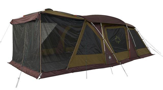 画像: LOGOS(ロゴス)の「3ルームテント」をご紹介 大人気テントがさらにパワーアップ! - ハピキャン(HAPPY CAMPER)