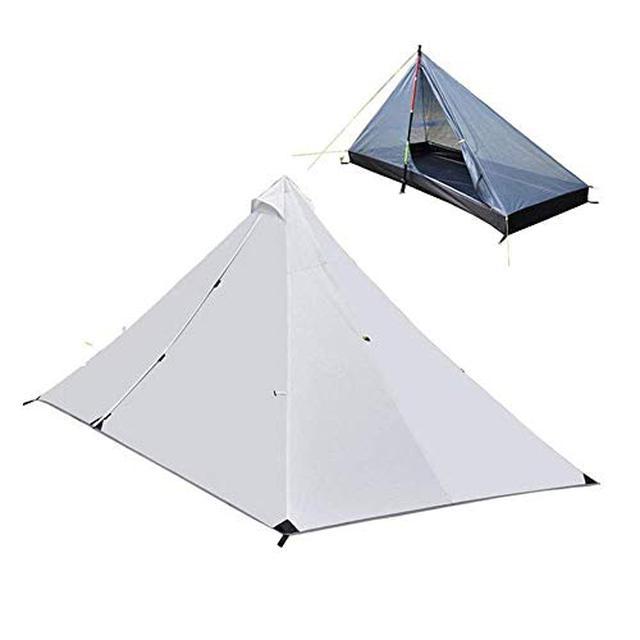 画像2: パイクスピーク(pykes peak)のドームテントレビュー 8千円以下のソロキャンプ用激安テント
