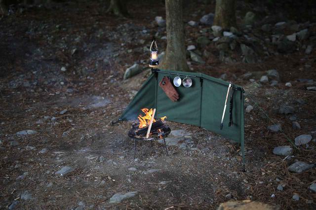 画像: 【2020年新作】大注目商品! QUICKCAMP(クイックキャンプ)の焚火陣幕に新色追加 - ハピキャン(HAPPY CAMPER)