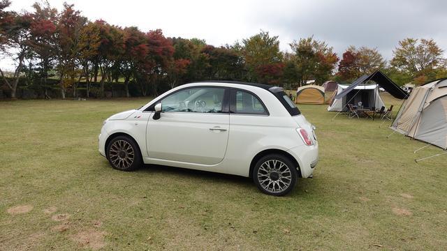 画像: ポイント1:FIAT500の小さな車でも大丈夫!