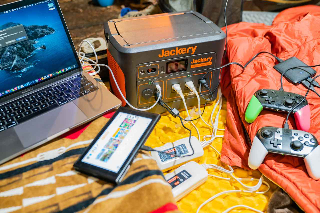 画像: 筆者撮影 一度にたくさん充電できてとても便利!