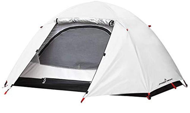 画像1: パイクスピーク(pykes peak)のドームテントレビュー 8千円以下のソロキャンプ用激安テント