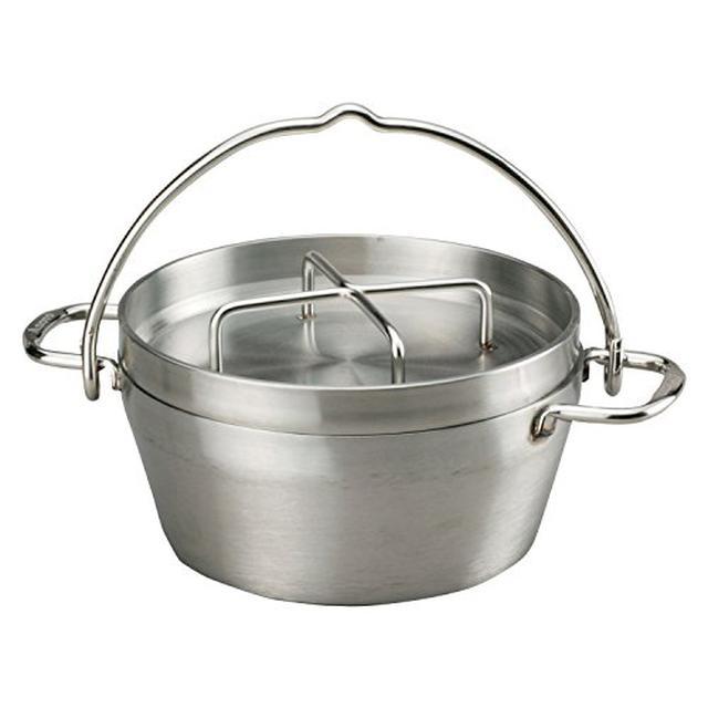 画像1: SOTO「ステンレスダッチオーブン」はシーズニング不要でお手入れ簡単! おうちでも使える
