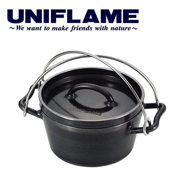 画像1: ユニフレームのダッチオーブンは黒皮鉄板で使いやすい! シーズニング方法とおすすめレシピも紹介