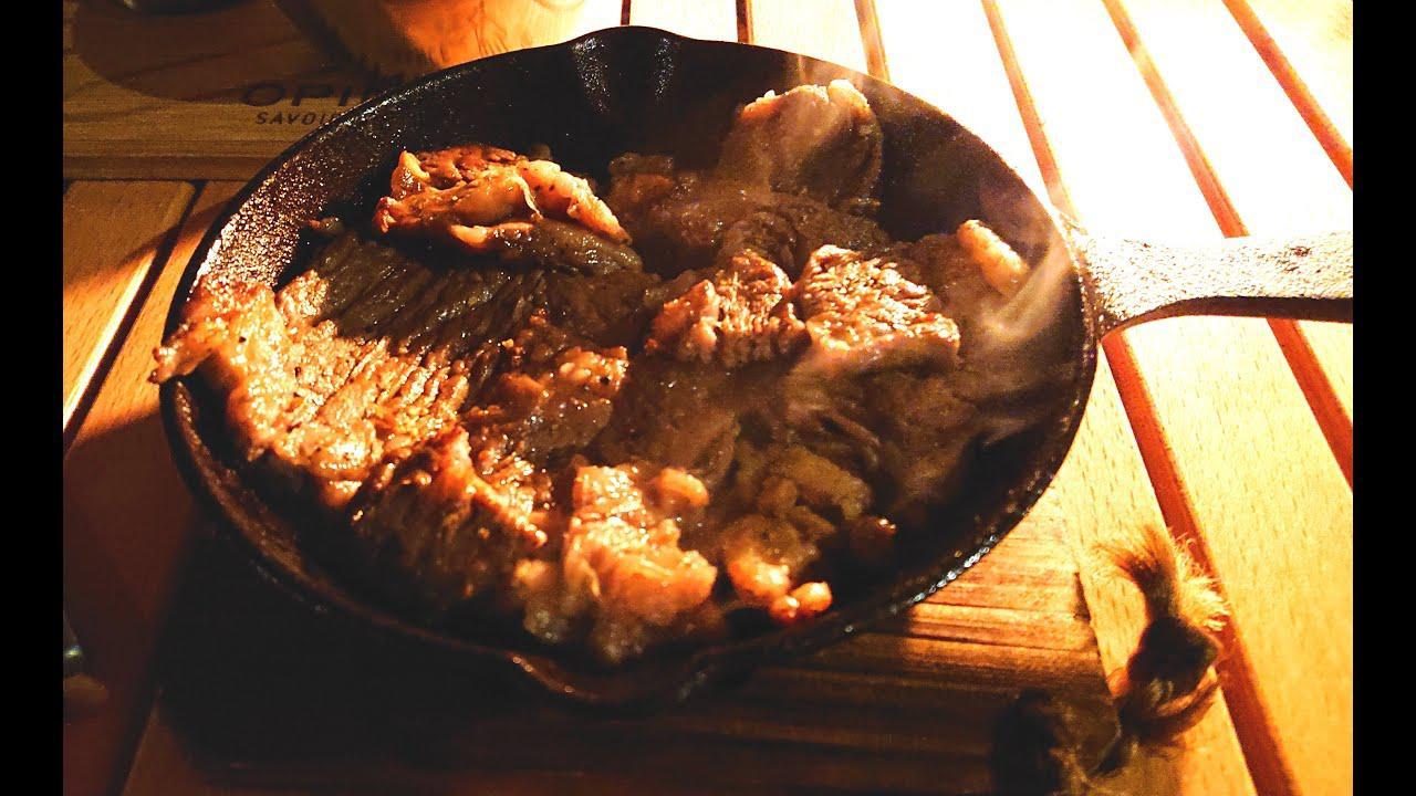 画像: ★ 薪ストーブで美味しいキャンプ飯 ★ www.youtube.com