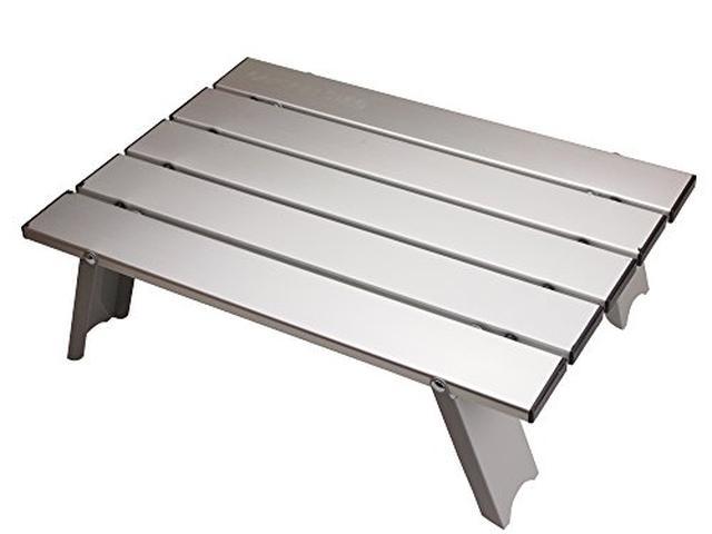 画像1: 【レビュー】キャプテンスタッグの名品「アルミロールテーブル」は安くて軽くて丈夫!自宅やピクニックでも活躍