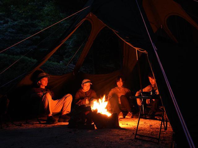 画像6: DODテントの中で唯一内部で火を使える!