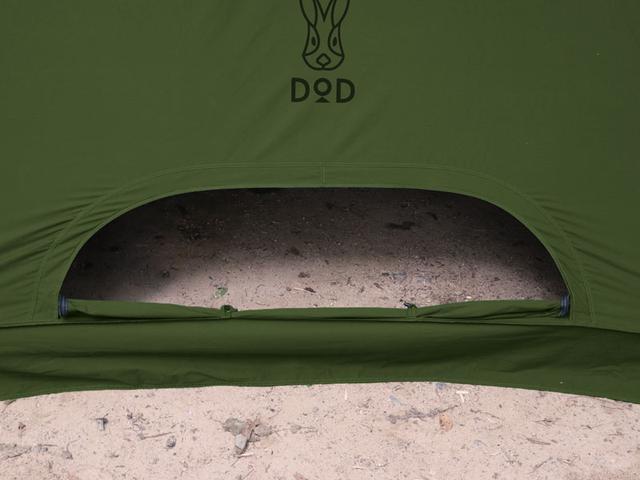 画像3: DODテントの中で唯一内部で火を使える!