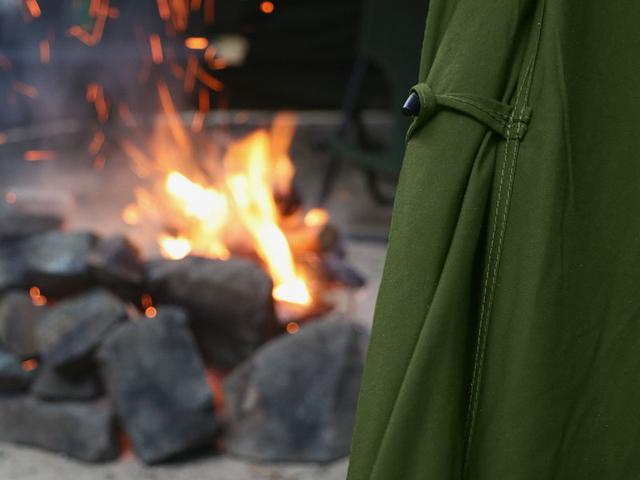 画像8: DODテントの中で唯一内部で火を使える!