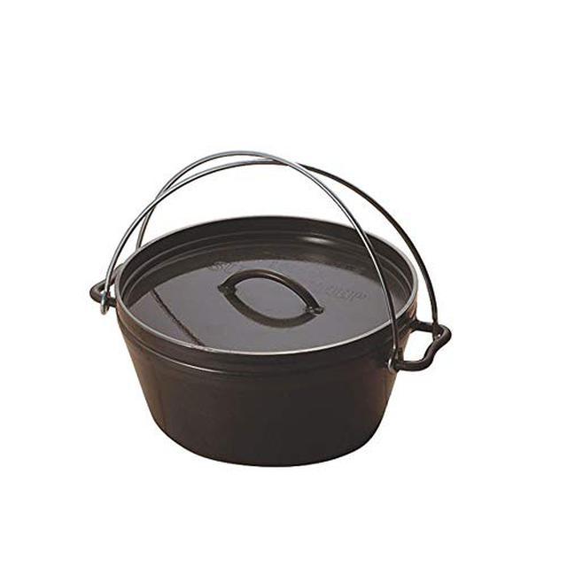 画像1: UNIFLAME(ユニフレーム)ダッチオーブンで燻製★アウトドア万能調理器具のダッチオーブンは燻すのにも最適!初心者向けテクニックをまとめて教えます。