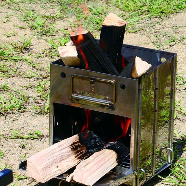 画像3: 「FLAME BOX」は、焚き火から調理まで!1台4役の多機能ギア