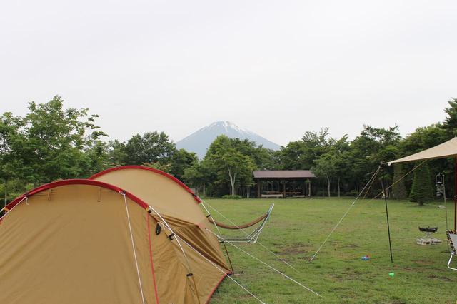 画像: 【おすすめキャンプ場07】富士山が一望できる大スケール!家族でグループキャンプも楽しめる「やまぼうしオートキャンプ場」 - ハピキャン(HAPPY CAMPER)