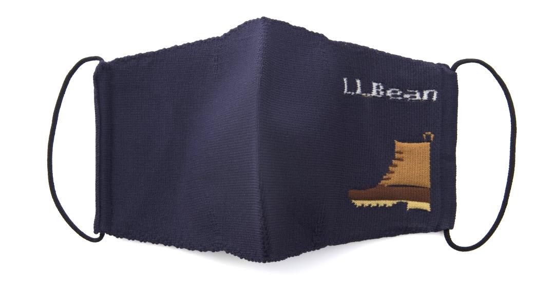 画像1: 「L.L.Bean Knit Non-Medical Mask 1 Pack」は、キュートなブランドのアイコンをデザインに!