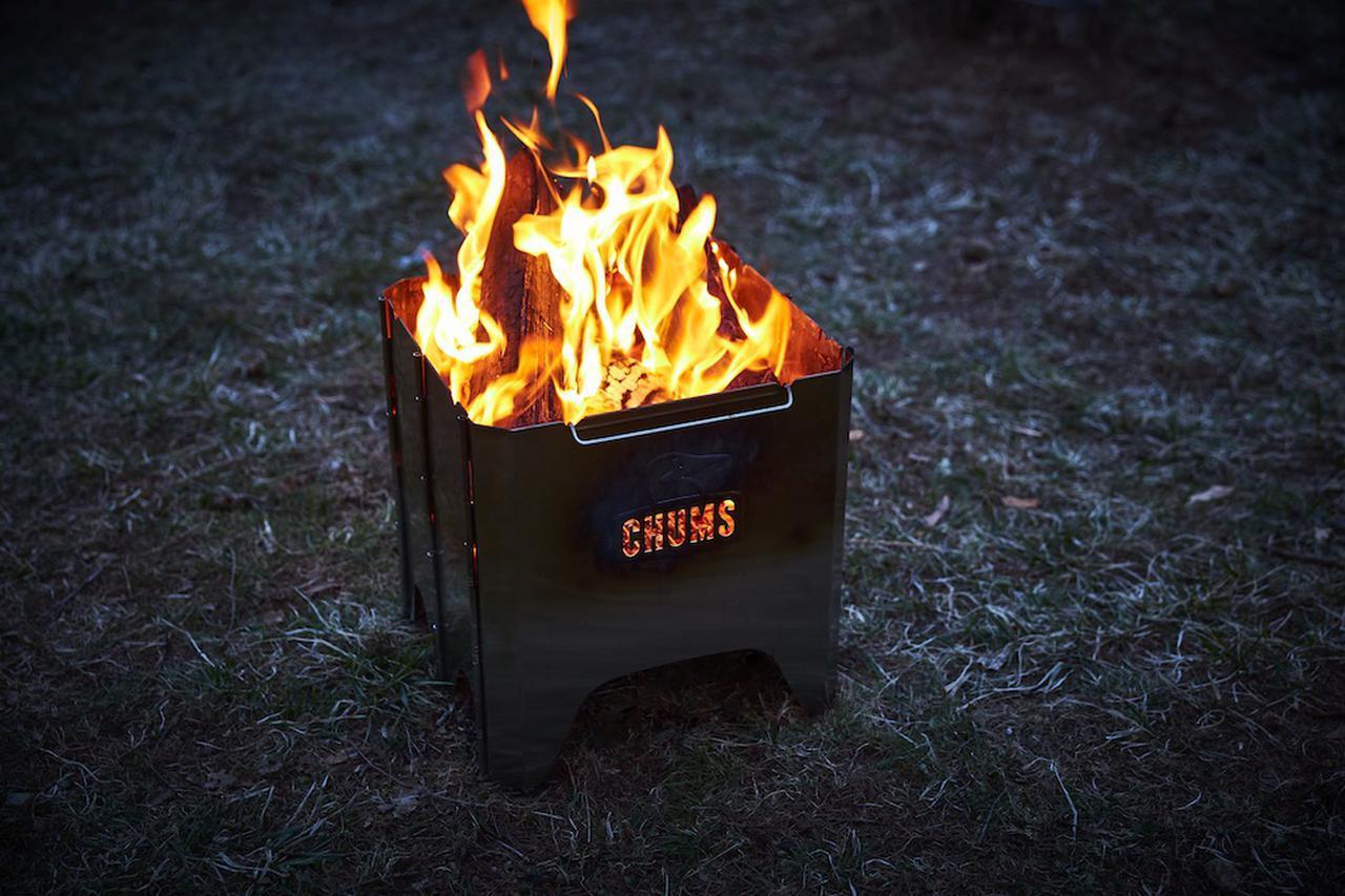 画像: 【注目リリース】焚き火シーズン目前!CHUMS(チャムス)から待望の焚き火台「Booby Face Folding Fire Pit」が登場 - ハピキャン(HAPPY CAMPER)