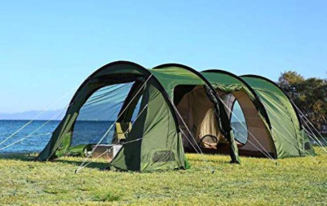 画像1: タケノコ・カマボコテントも紹介! DOD(ドッペルギャンガー)の人気大型テント6選