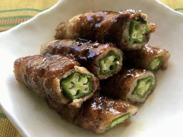 画像: 【オクラの夏レシピ3選】キャンプでもりもり食べたい! 豚肉巻きやガンボスープ・さっぱり和え物 - ハピキャン(HAPPY CAMPER)