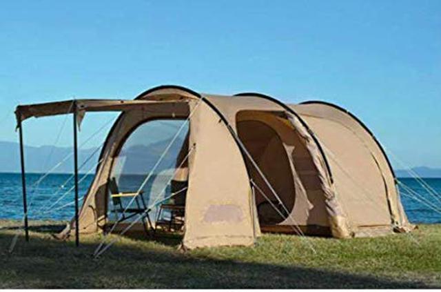 画像2: タケノコ・カマボコテントも紹介! DOD(ドッペルギャンガー)の人気大型テント6選