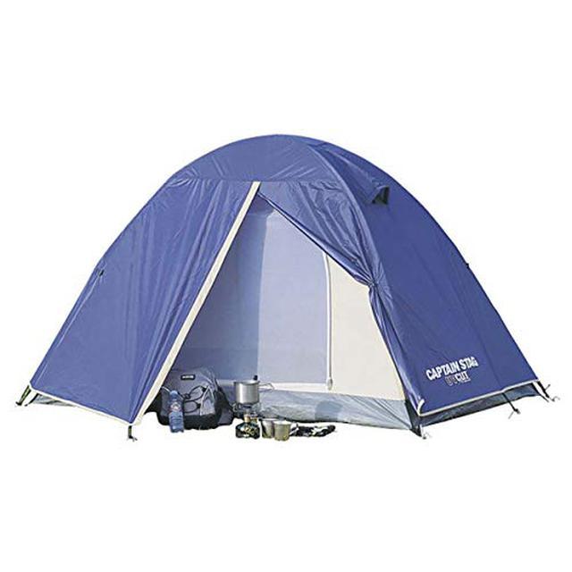 画像1: 【バイク好き必見】ソロキャンプ向けテントおすすめ8選 組み立てが簡単!
