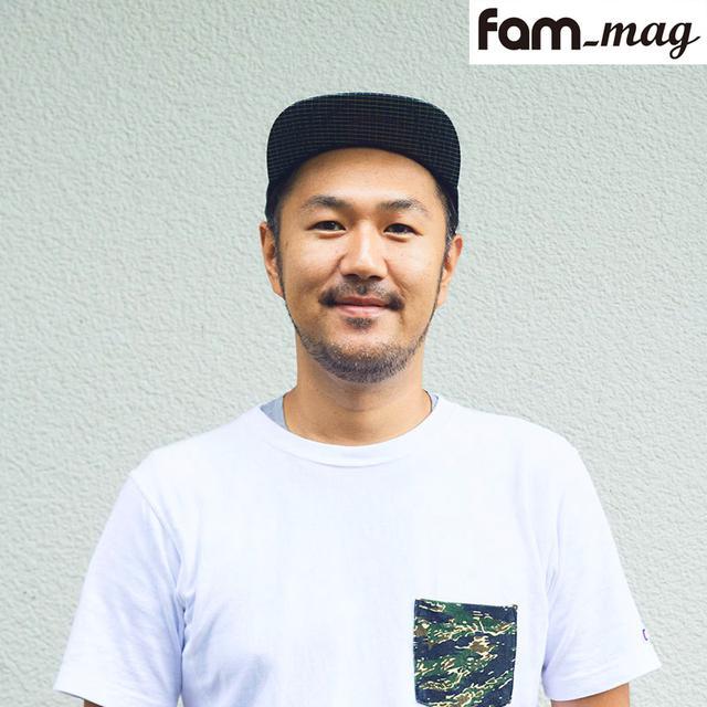 画像: キャンプ誌fam_mag編集長 槻真悟