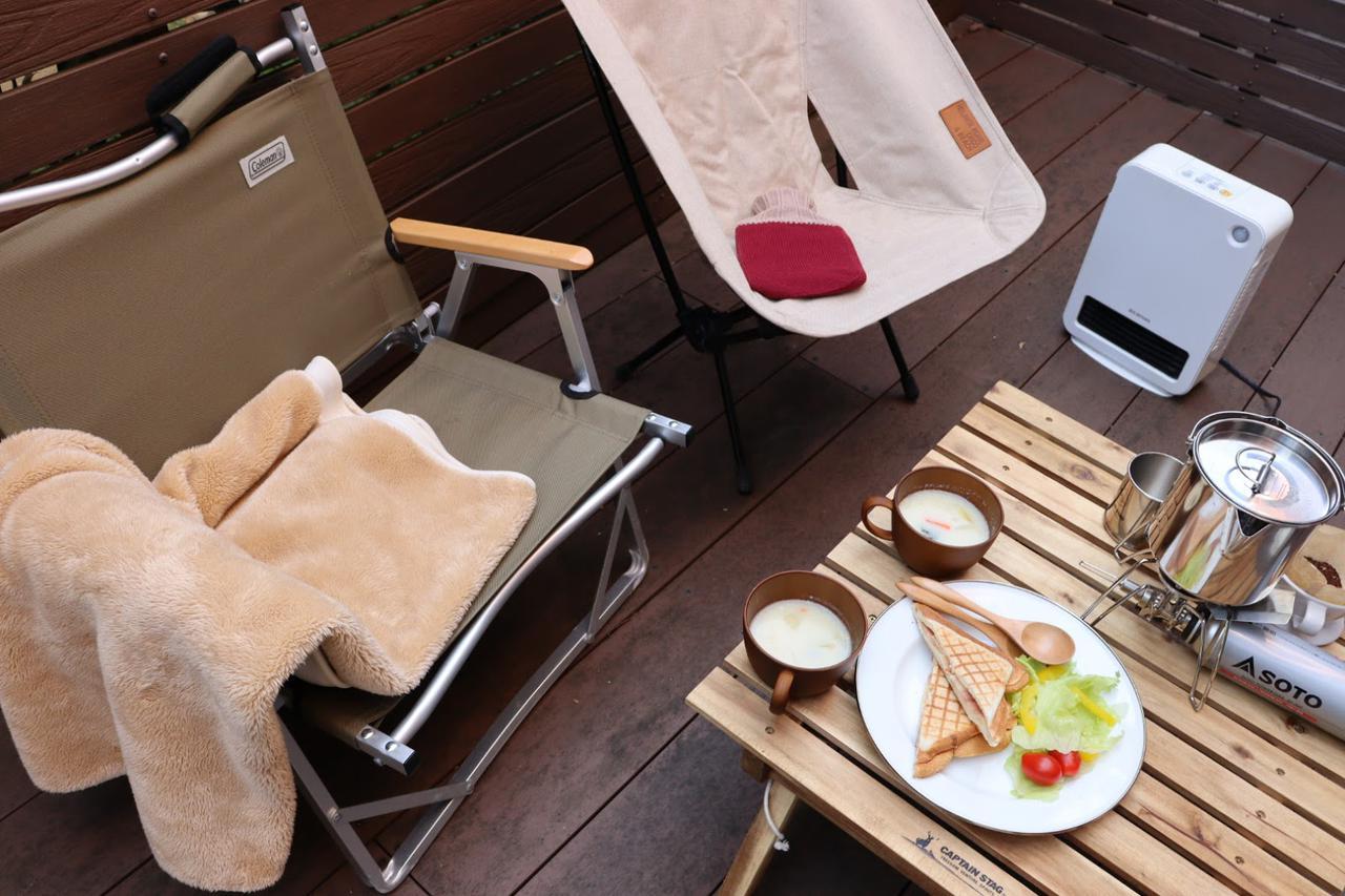 画像: 冬のベランピング・庭キャンプにおすすめのストーブ、ヒーター