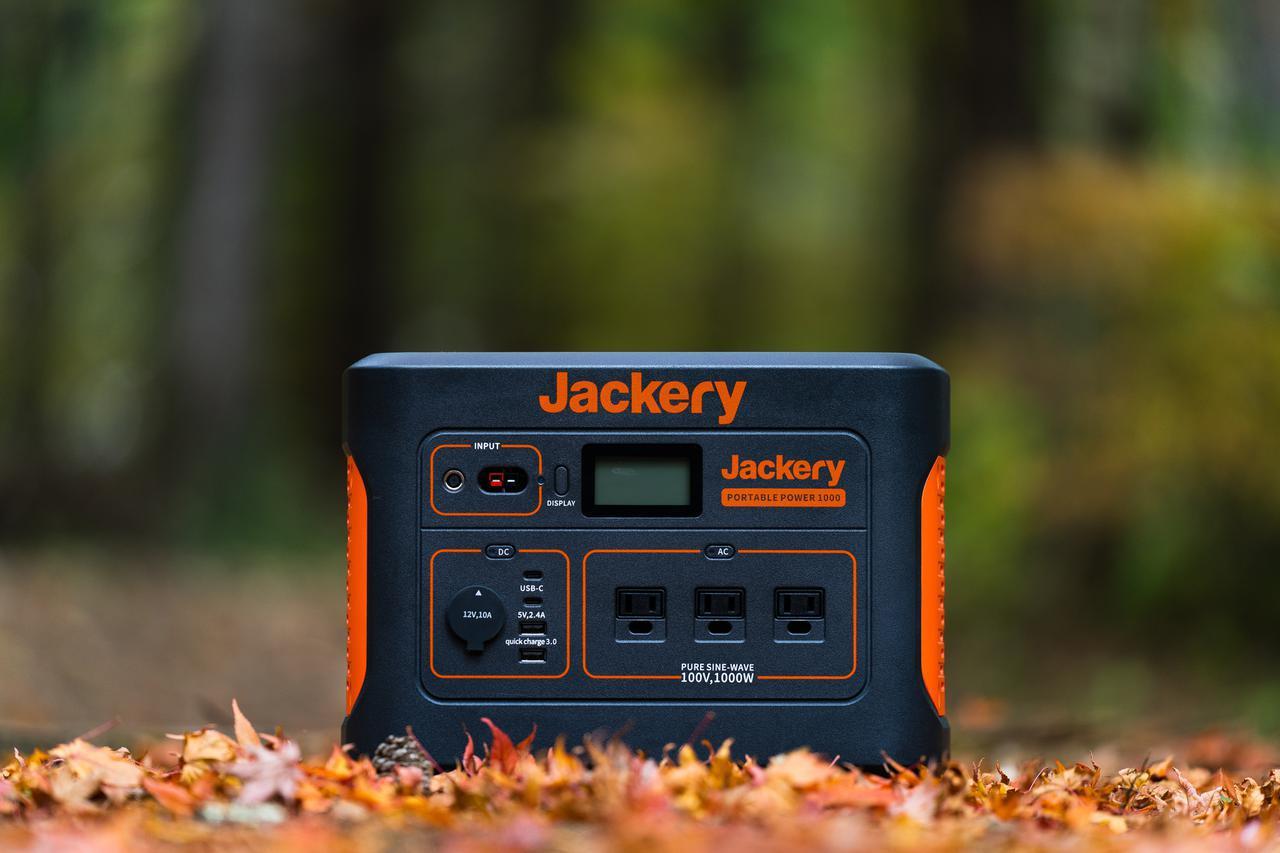 画像: 【体験レビュー】ポータブル電源で快適冬キャンプ! Jackery(ジャクリ)のポータブル電源1000で手に入れた「5つの快適さ」とは - ハピキャン(HAPPY CAMPER)