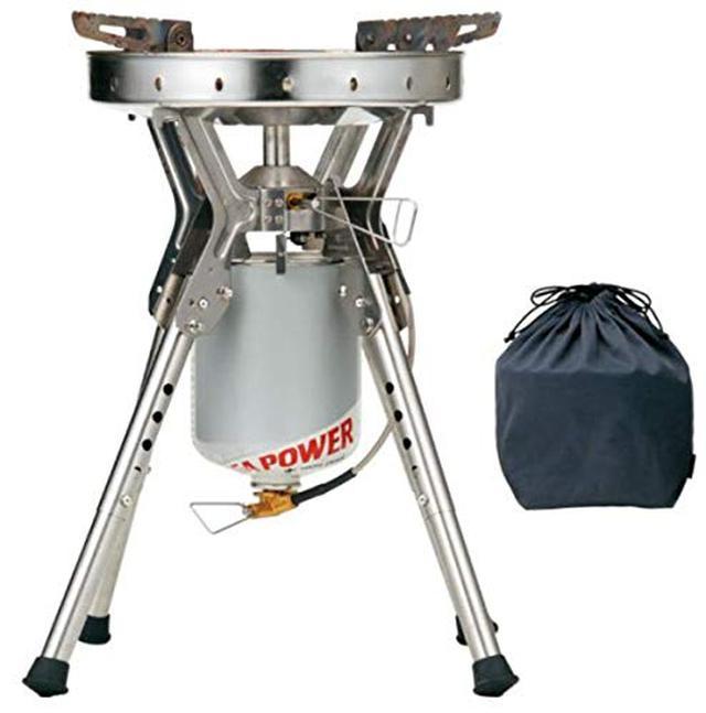 画像4: 【レビュー】スノーピークの囲炉裏テーブル「ジカロテーブル」 ファミリーキャンプで焚き火を囲むのに最適!
