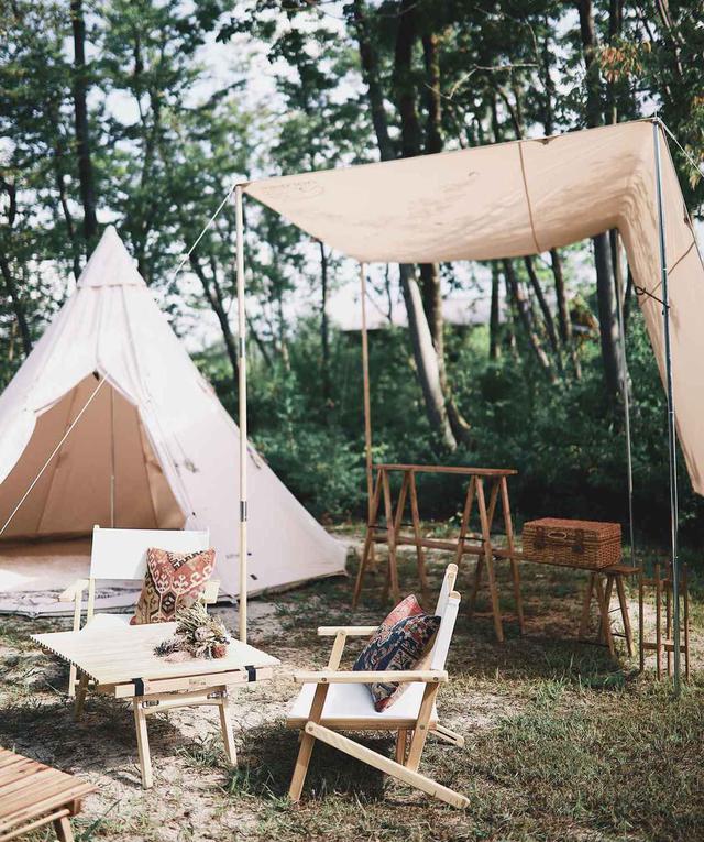 画像: キャンプでのレイアウトをよりおしゃれにする方法