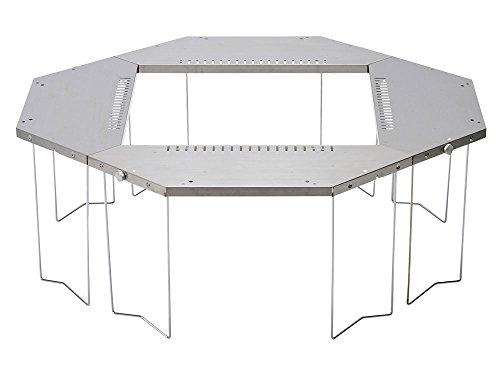 画像1: 「ジカロテーブル」はスノーピークの囲炉裏テーブル! 焚き火に最適★秋冬キャンプに大活躍のアイテムをレビュー