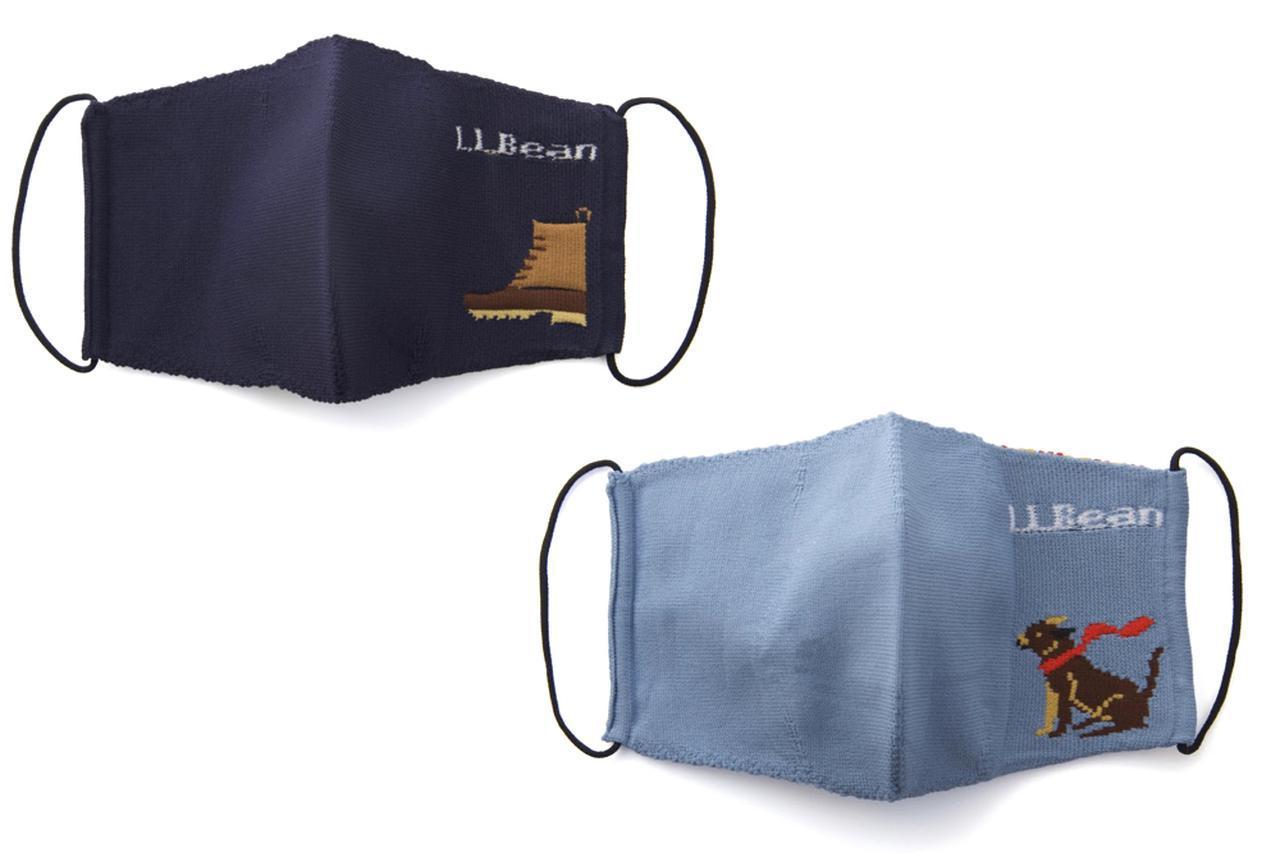 画像: 【注目リリース】L.L.Bean(エル・エル・ビーン)から登場した初のマスク「L.L.Bean Knit Non-Medical Mask 1 Pack」は、刺繍がポイント! - ハピキャン(HAPPY CAMPER)