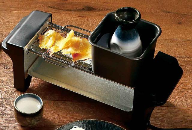 画像: 炙り網&熱燗鍋