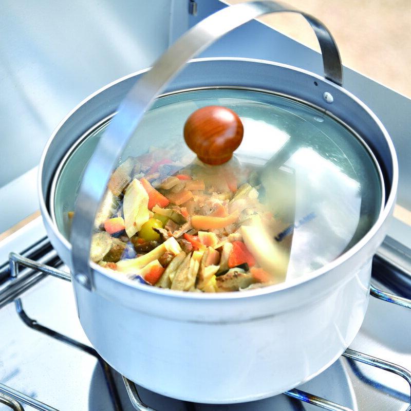 画像4: 【まとめ】キャンプにおすすめのクッカー9選! 持っておきたい調理器具(メスティン・スキレット)などもあわせてご紹介します