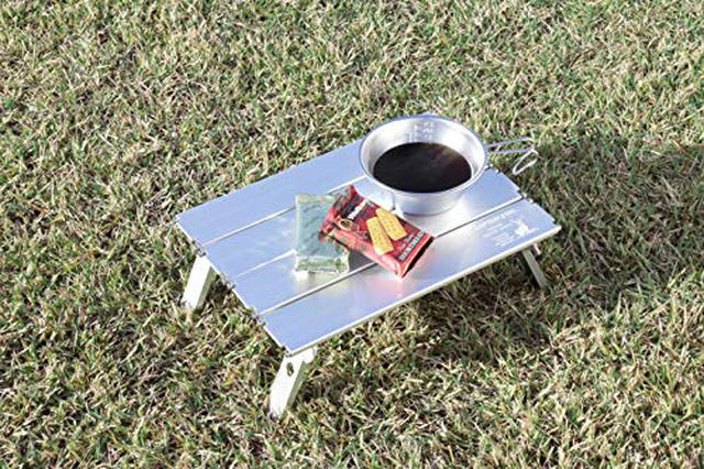 画像4: 【レビュー】キャプテンスタッグの名品「アルミロールテーブル」は安くて軽くて丈夫!自宅やピクニックでも活躍