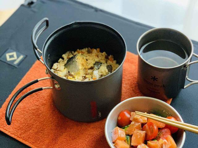 画像: ライター撮影 炊飯もできます!
