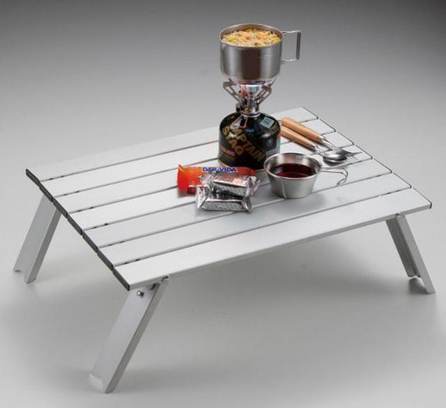 画像5: 【レビュー】キャプテンスタッグの名品「アルミロールテーブル」は安くて軽くて丈夫!自宅やピクニックでも活躍