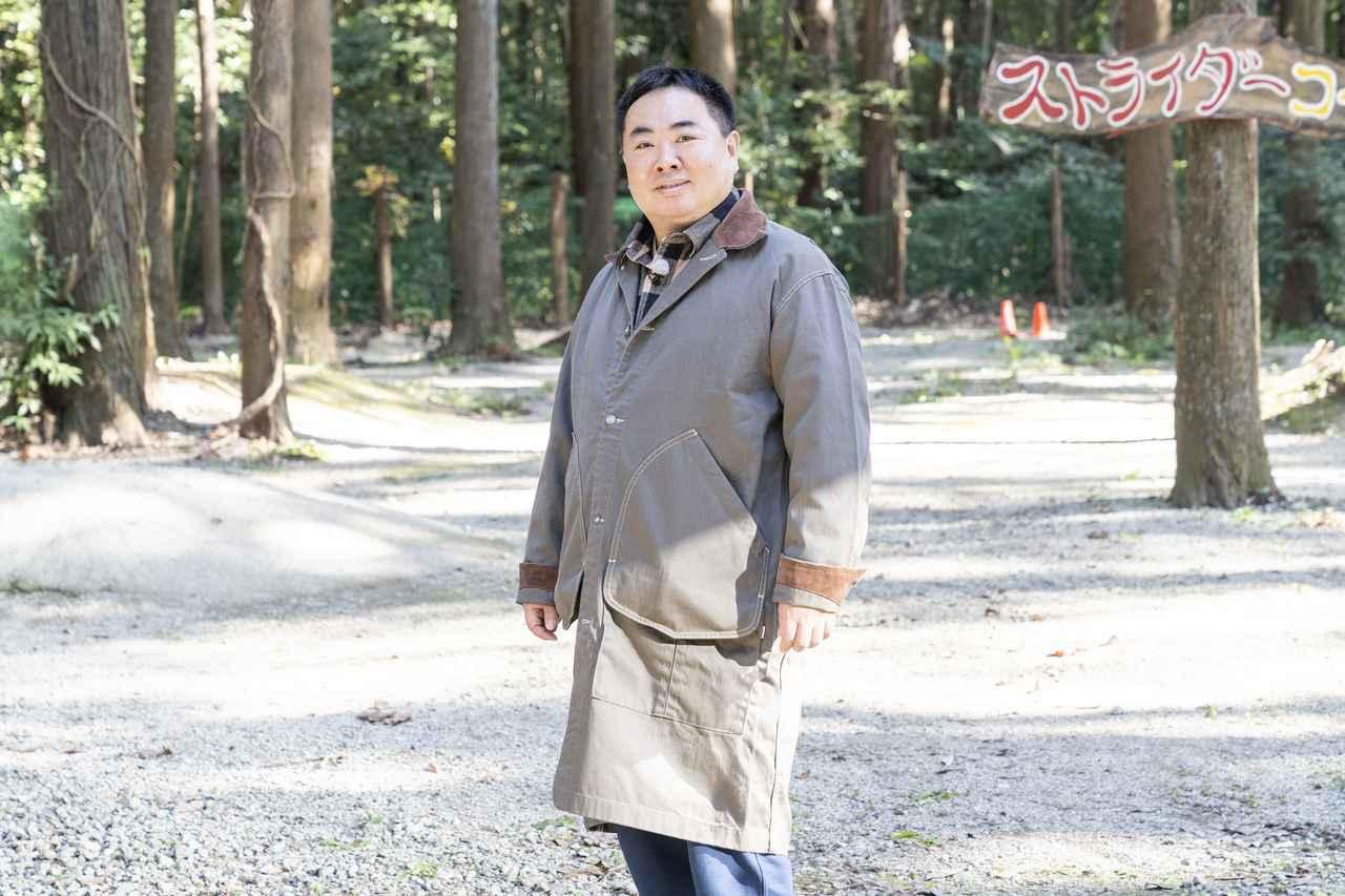 画像: ドランクドラゴン・塚地武雅さん (photographer 吉田 達史)