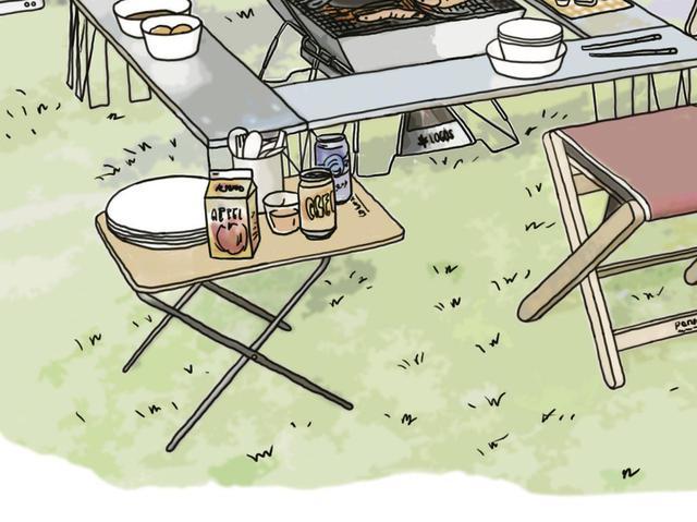 画像16: イラスト提供・キャンプ情報誌「 fam_mag(ファム マグ)」