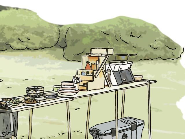 画像13: イラスト提供・キャンプ情報誌「 fam_mag(ファム マグ)」